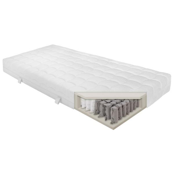 SleepPur White Line Silver Taschenfederkernmatratze