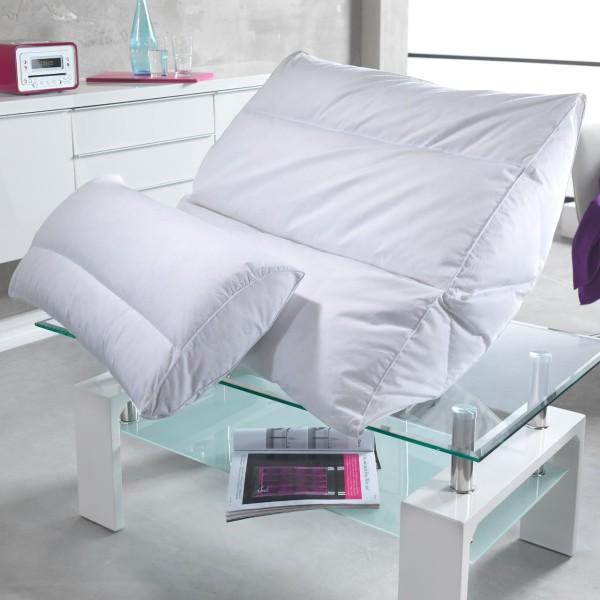 Häussling Body Perfect Daunenkopfkissen Modern Line soft