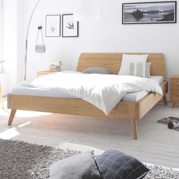 Hasena Oak-Bianco Massivholzbett Modul 18 Edda Massito