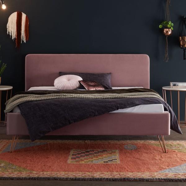 Hasena Polsterbett Dream-Line Ciara Mars Fasio rose