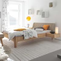 Hasena Oak-Bianco Massivholzbett Modul 18 Gabo Xylo