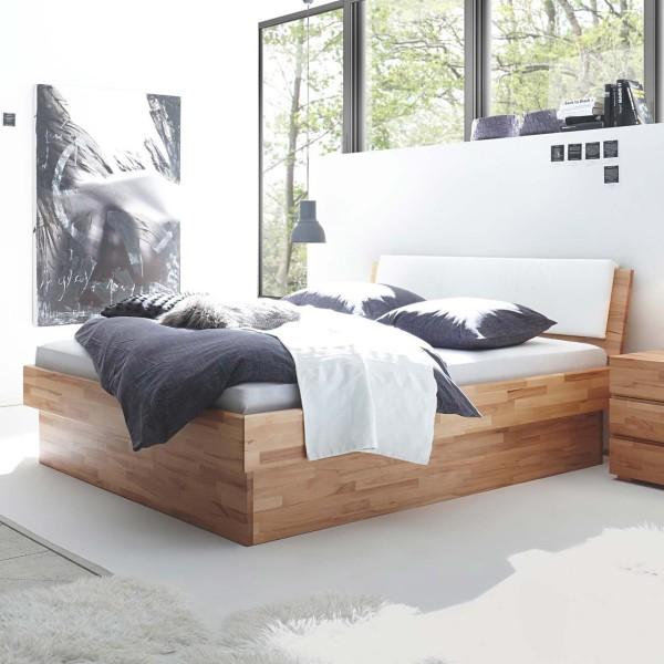 Hasena Wood-Line Massivholzbett Premium 18 Varus Ravo Practico -Box