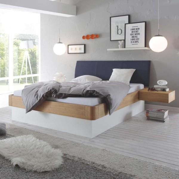 Hasena Oak-Bianco Massivholzbett Modul 18 Ripo Practico-Ron