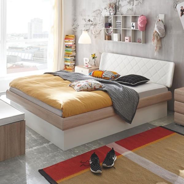 Hasena Soft-Line Holzbett Noble 14 Gabo Practico-Box