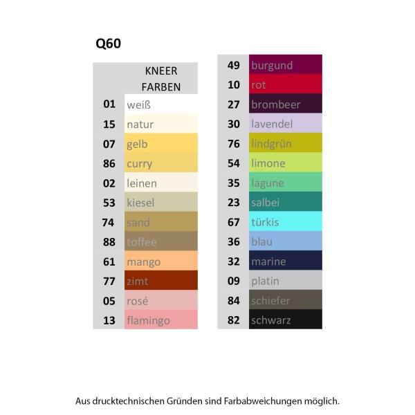 Kneer Q60 Single-Jersey Spannbetttuch