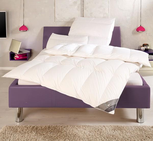 Häussling Body Perfect Daunendecke Modern Line Kassettenbett 100% Daunen multi sleep warm