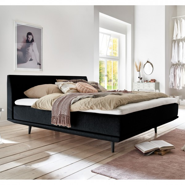 Minimum Collection Boxspringbett Piano Black