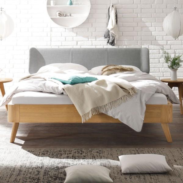 Hasena Oak-Bianco Massivholzbett Modul 18 Boga Masito