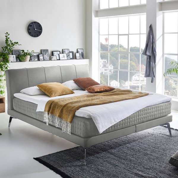 Minimum Collection Boxspringbett Nightflight Mantra Silver